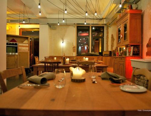 Umgestaltung eines Restaurants im historischen Ortskern