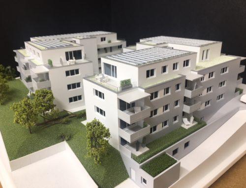 Wohnkomplex in Laubengangerschließung
